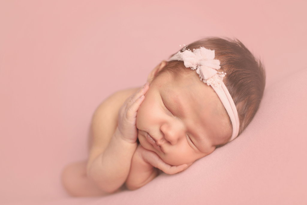 newborn-girl-in-pink
