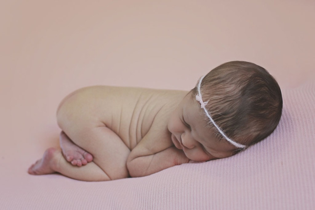 Day 11 Newborn girl (Mandeville newborn photographer)
