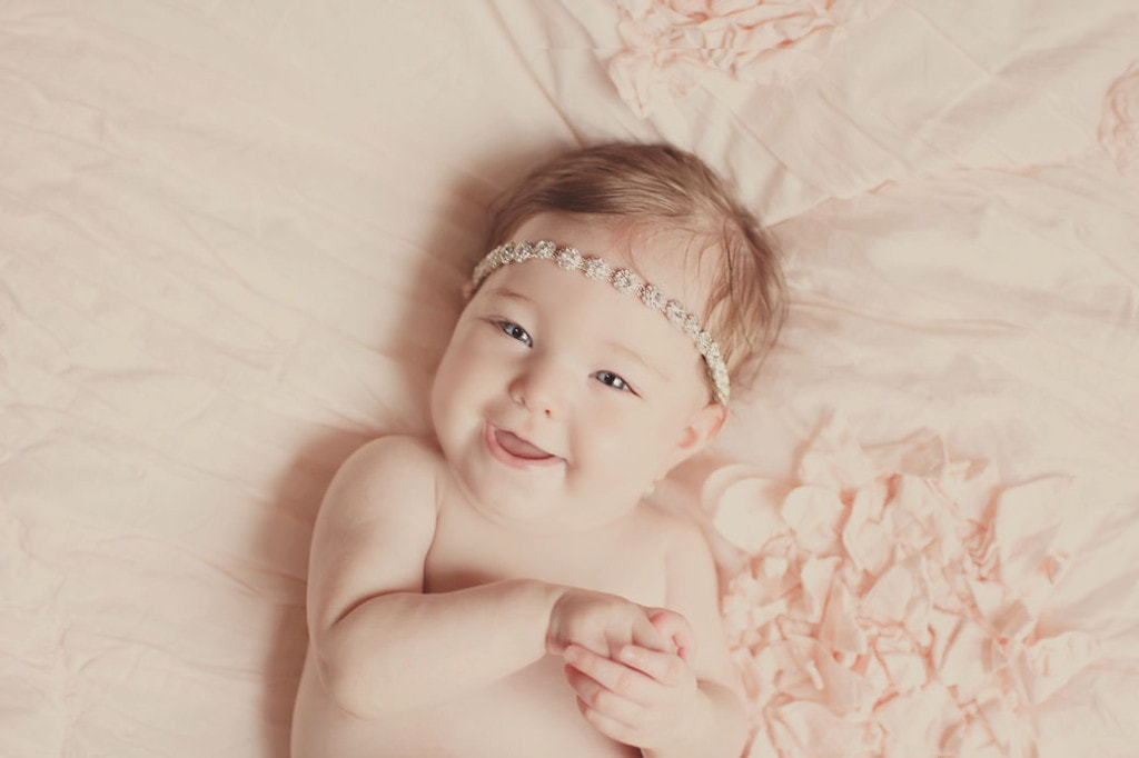 5 month Baby Session (Slidell Baby Photographer)