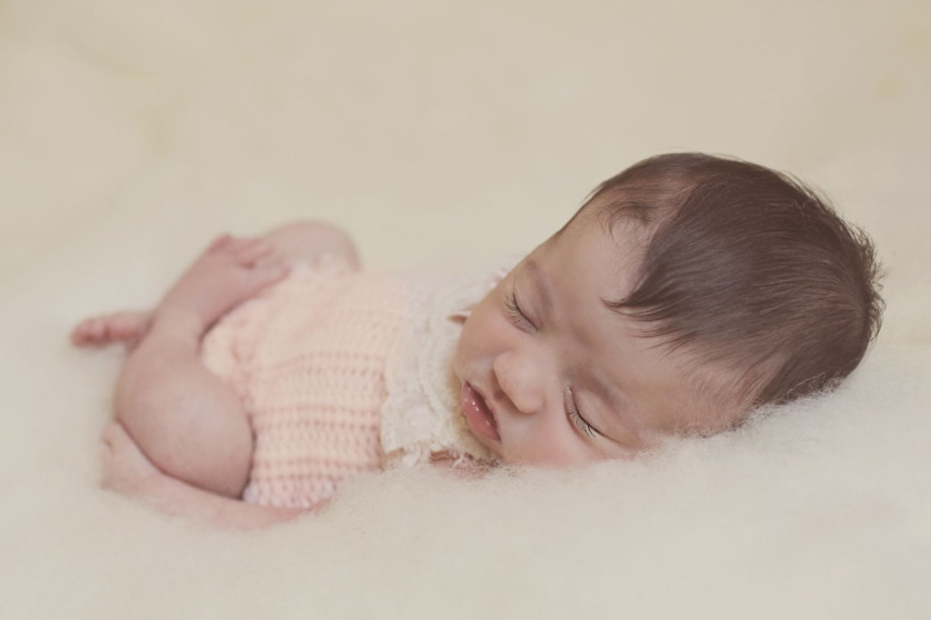New Orleans newborn girl session 1