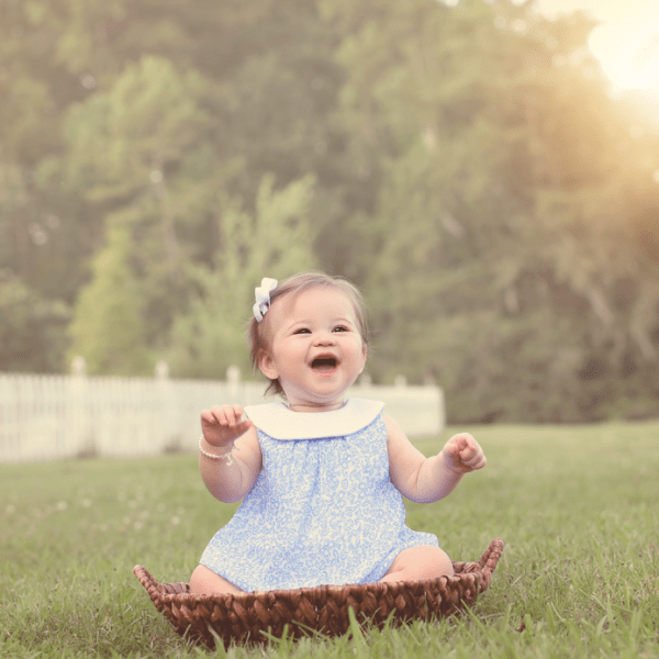 Sophia ~9 month baby girl session (Metairie, LA baby photographer)