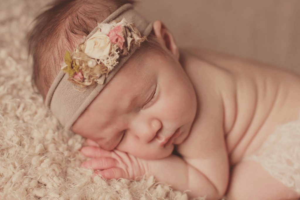 Covington, LA newborn girl session 3