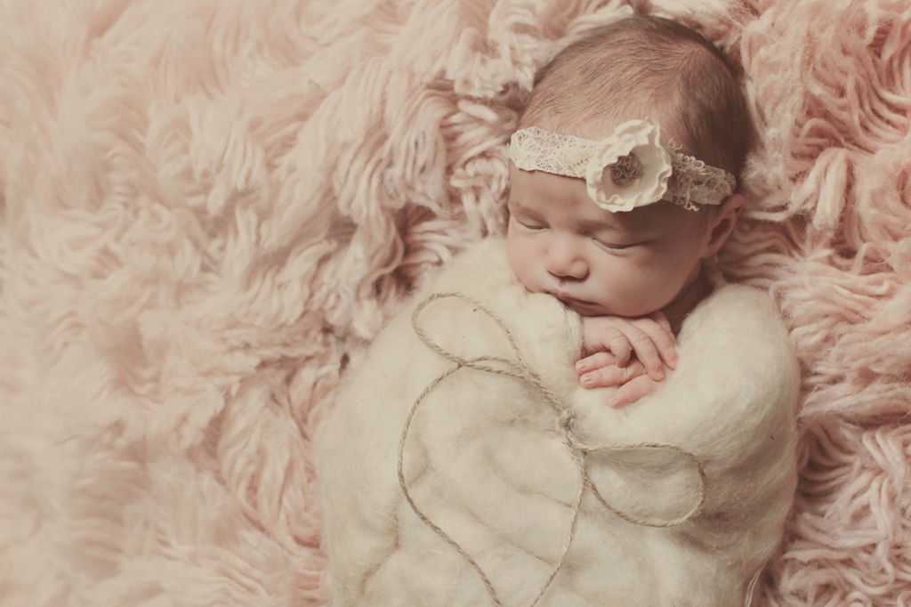 Covington, LA newborn girl session