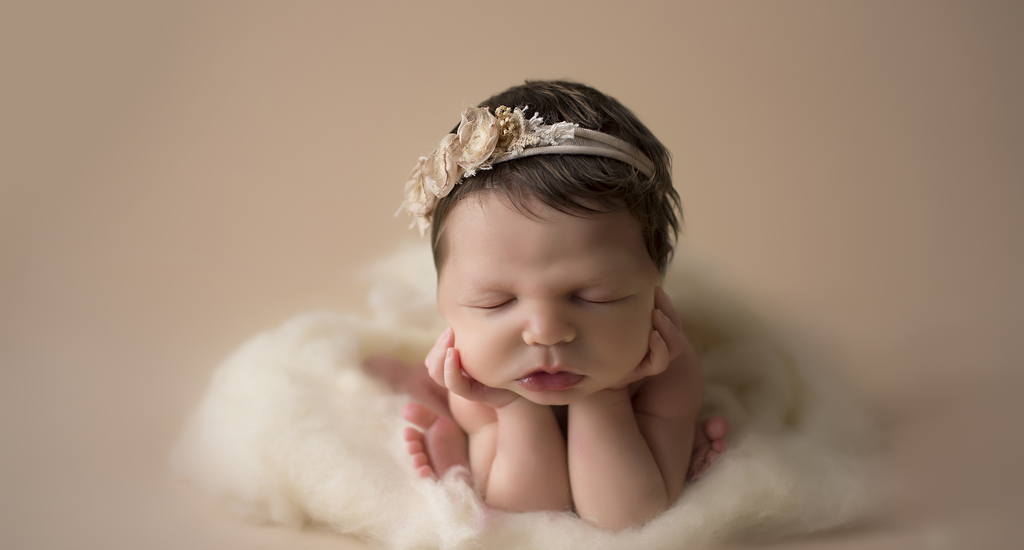 Mary kate 6 days old new orleans newborn photographer