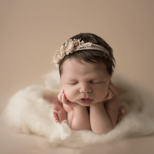 Mary Kate ~6 days old {New Orleans newborn photographer}