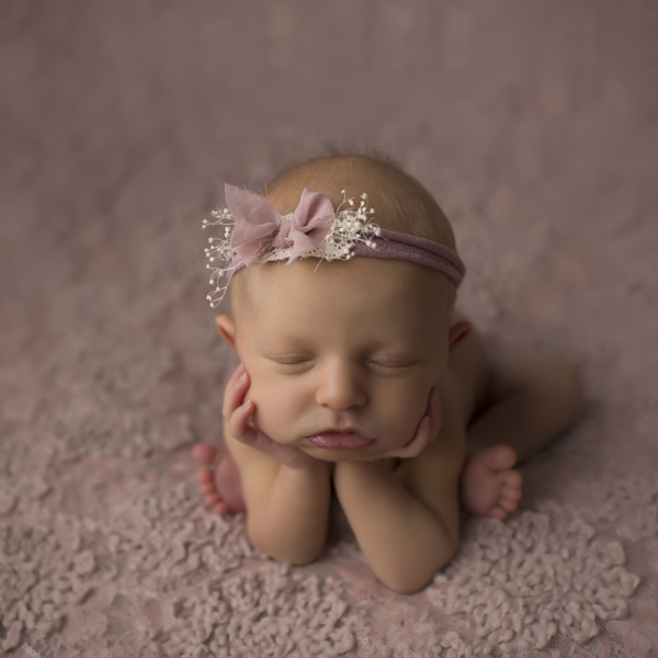 Willow 1 week old new orleans newborn photographer