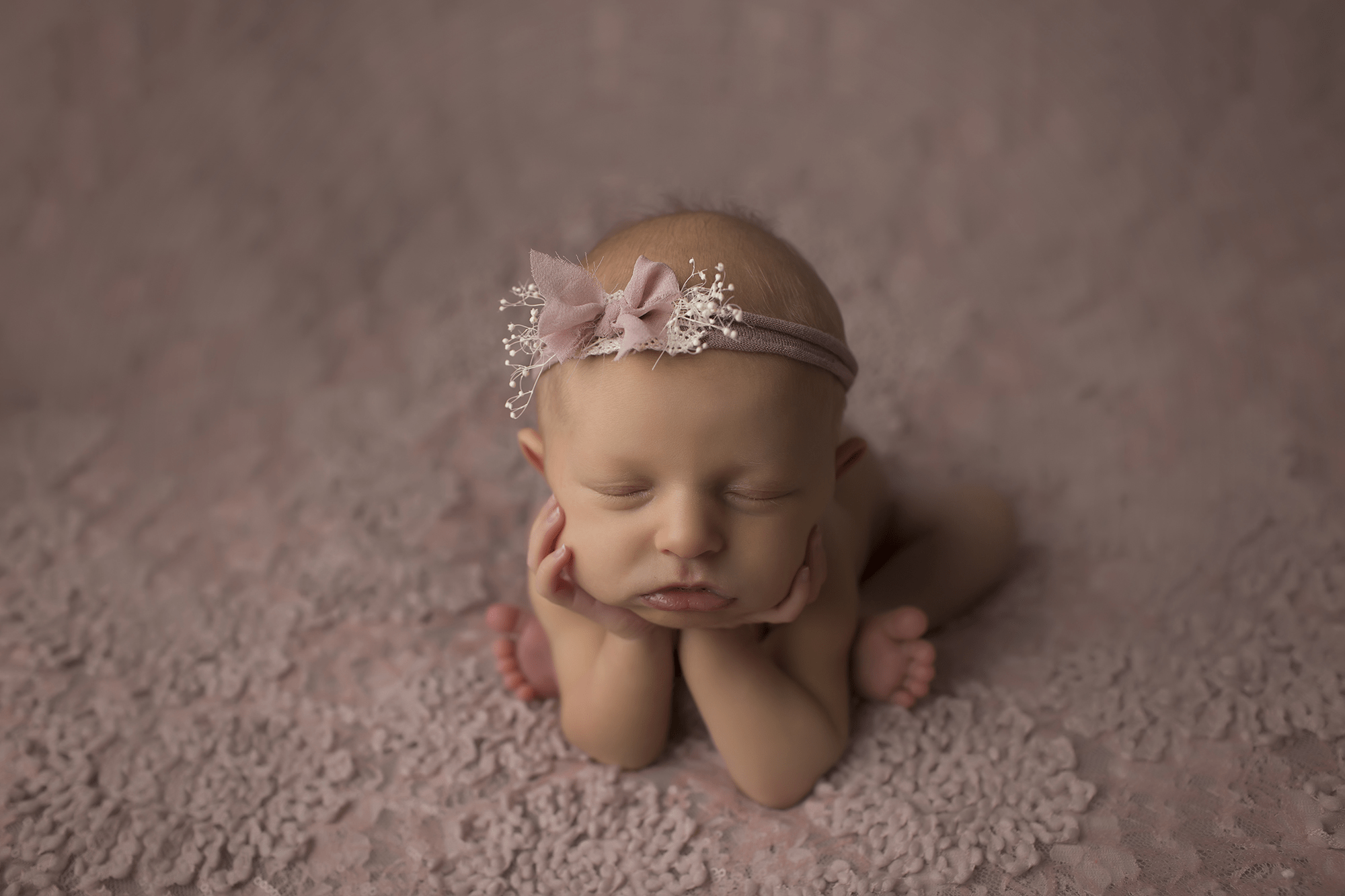 Willow 1 week old {New Orleans Newborn Photographer}