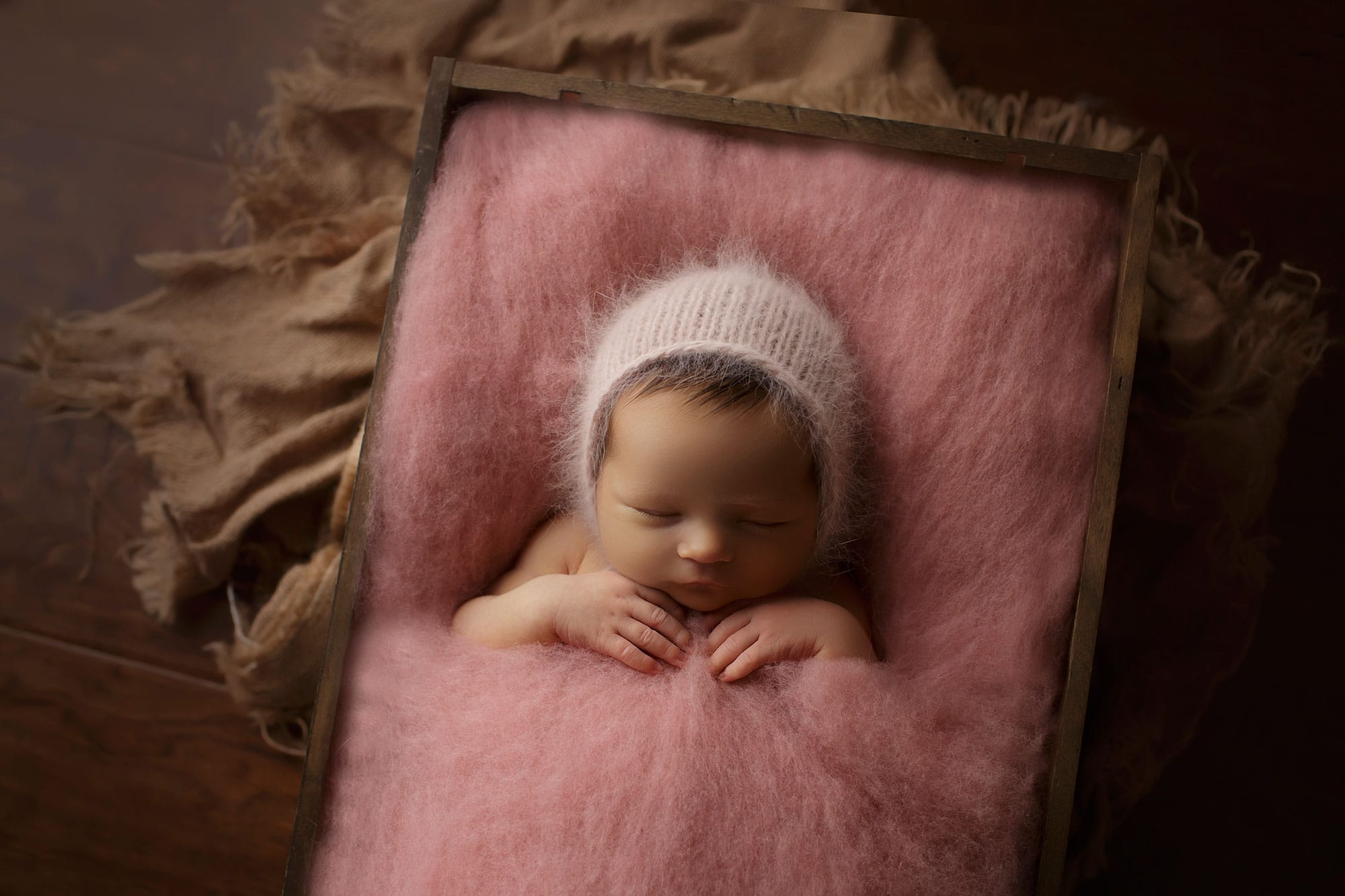 Gracyn Day 4 {River Ridge LA newborn photographer}
