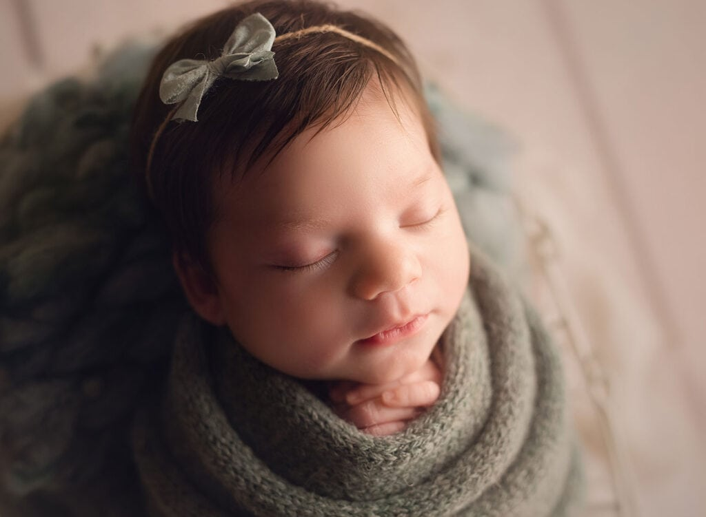 newborn girl profile