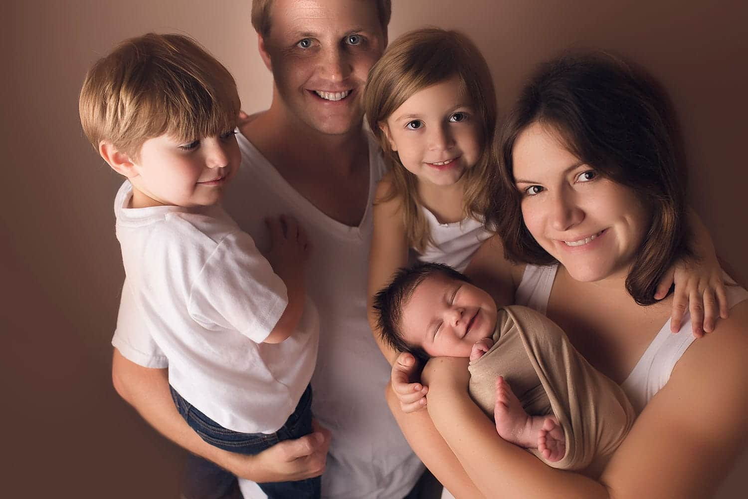 Best first family photo ever by Annie Whitaker Photography