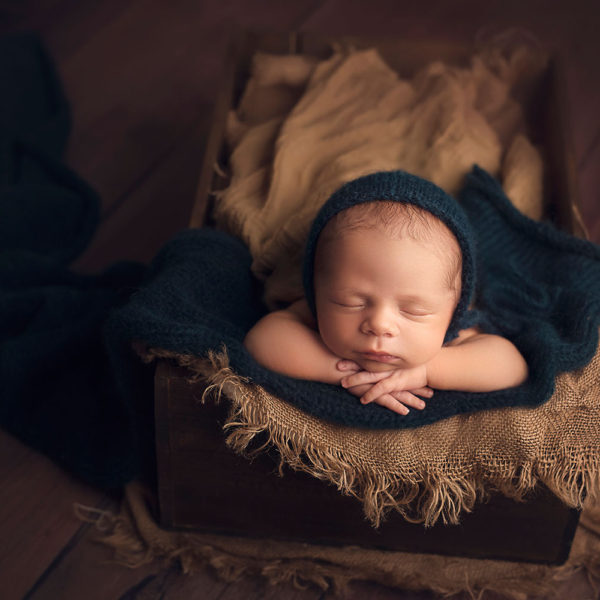 Covington LA Newborn Photographer (Beau 3 weeks)