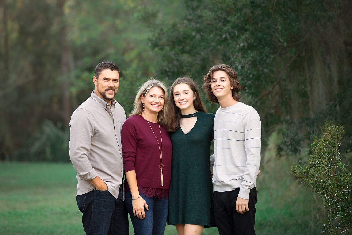 Family session in Mandeville LA by Annie Whitaker Photography