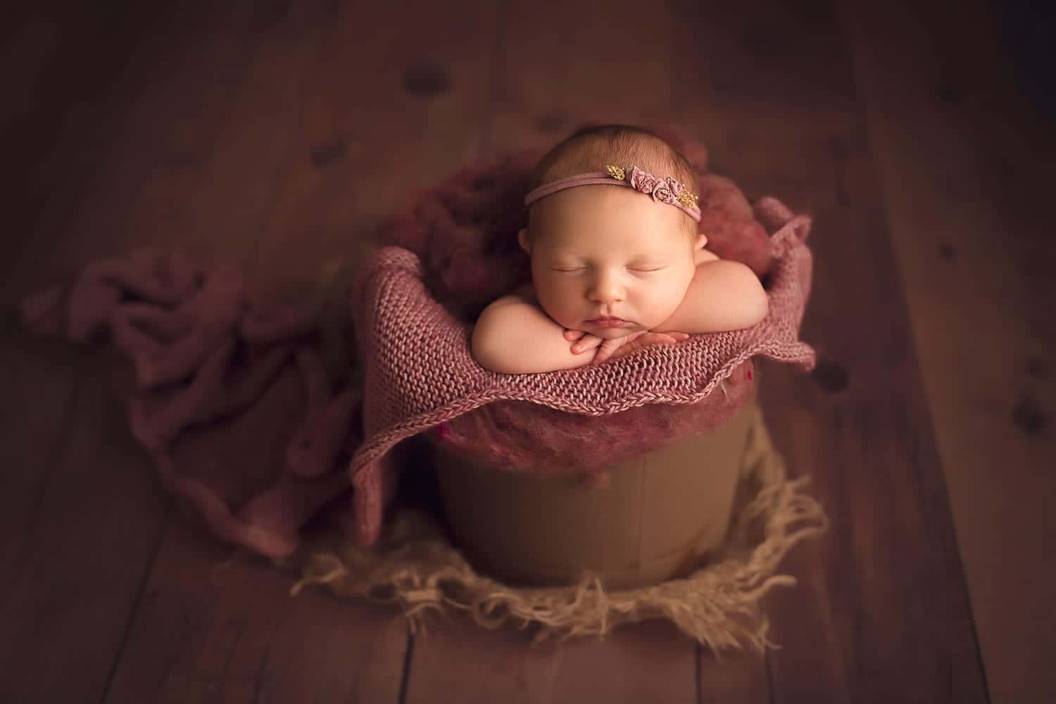 Fine art newborn photography in Slidell LA by Annie Whitaker Photography