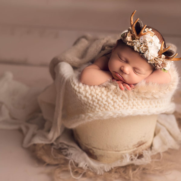 Covington LA Newborn Photographer {Penelope Day 8}