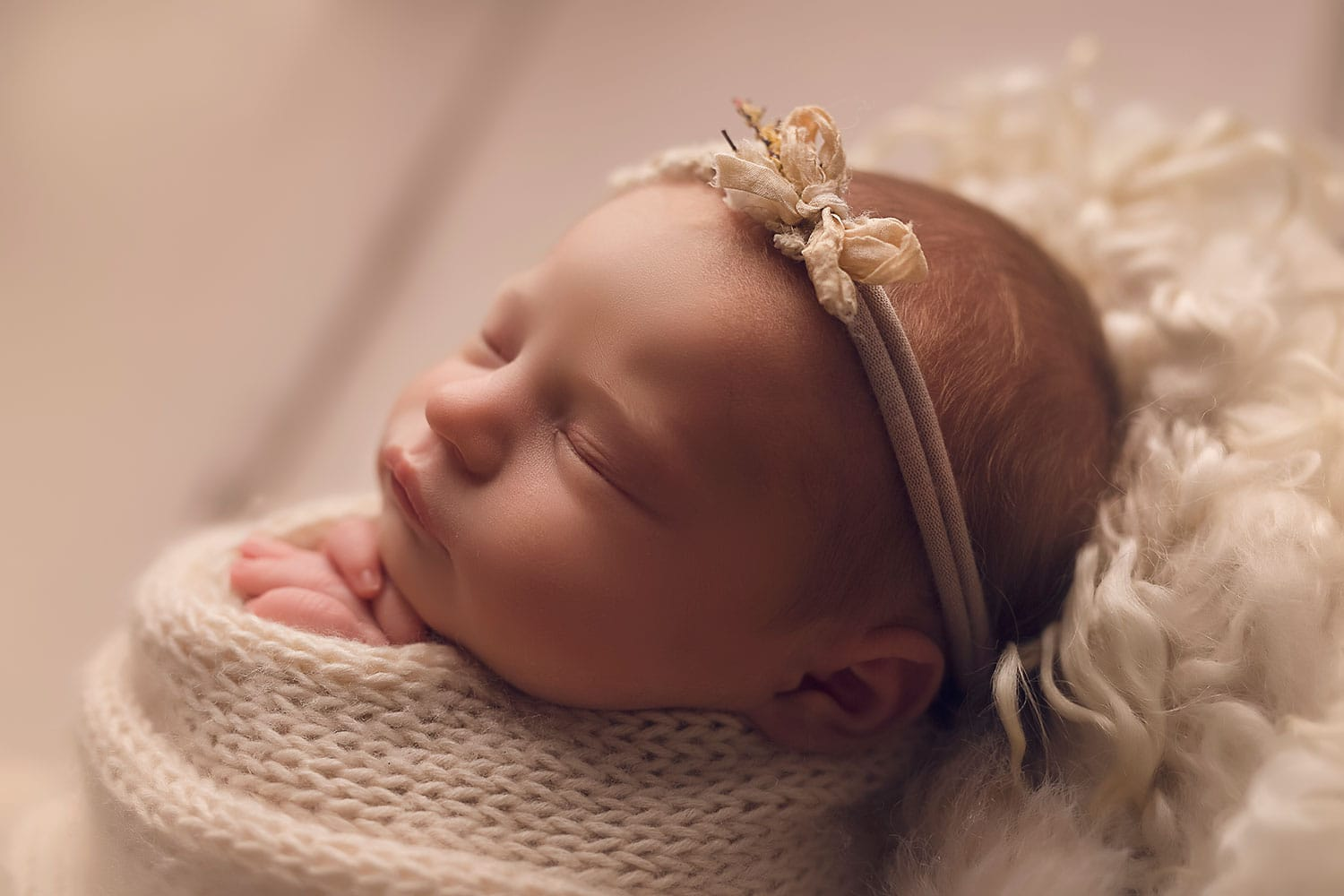 Fine Art Newborn Portraiture by Annie Whitaker Photography