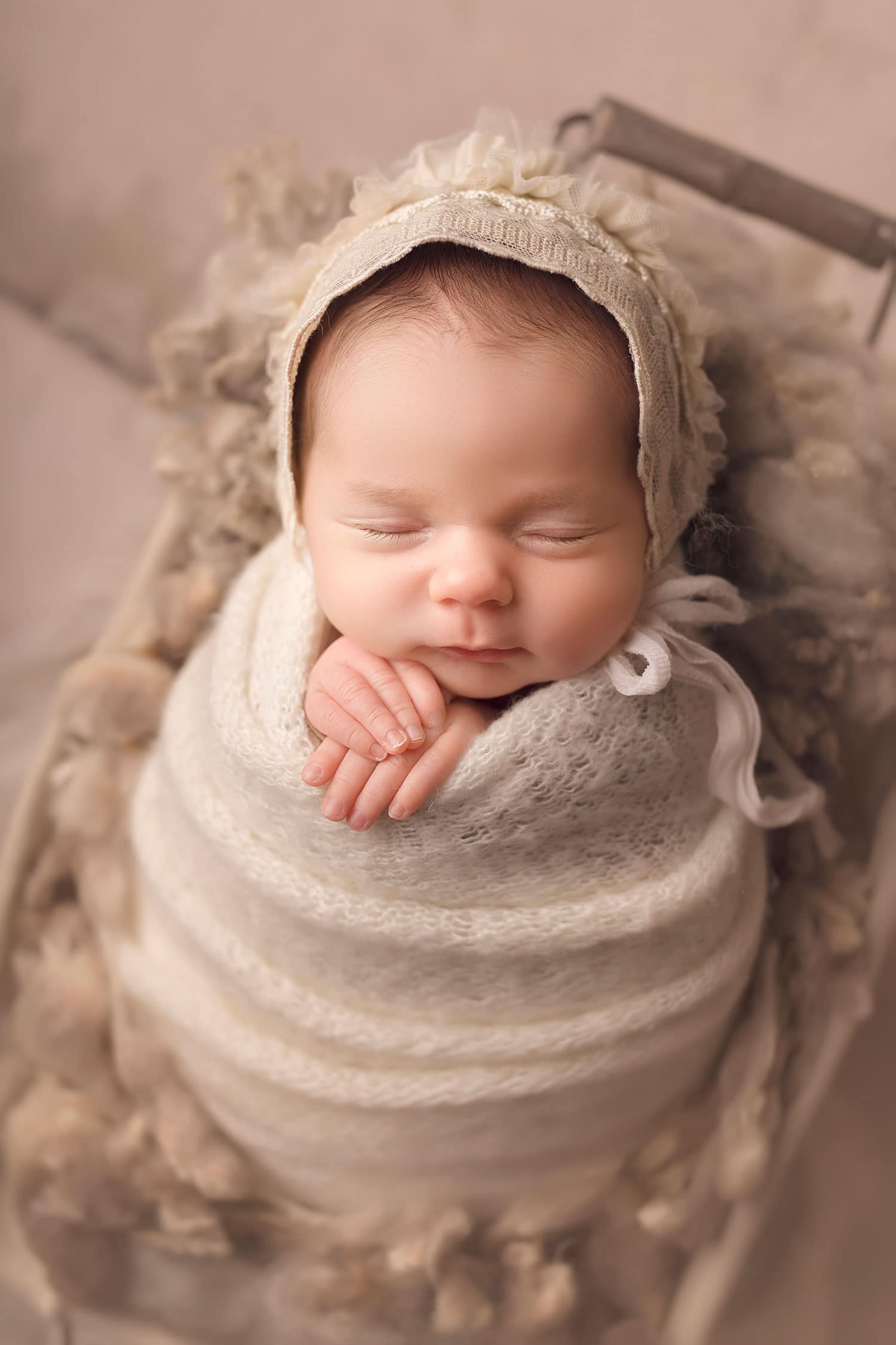Fine art newborn photography in New Orleans LA by Annie Whitaker Photography