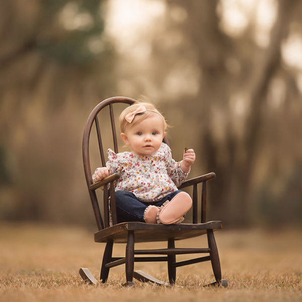 Diamondhead MS Family Photographer {Vivian one year}