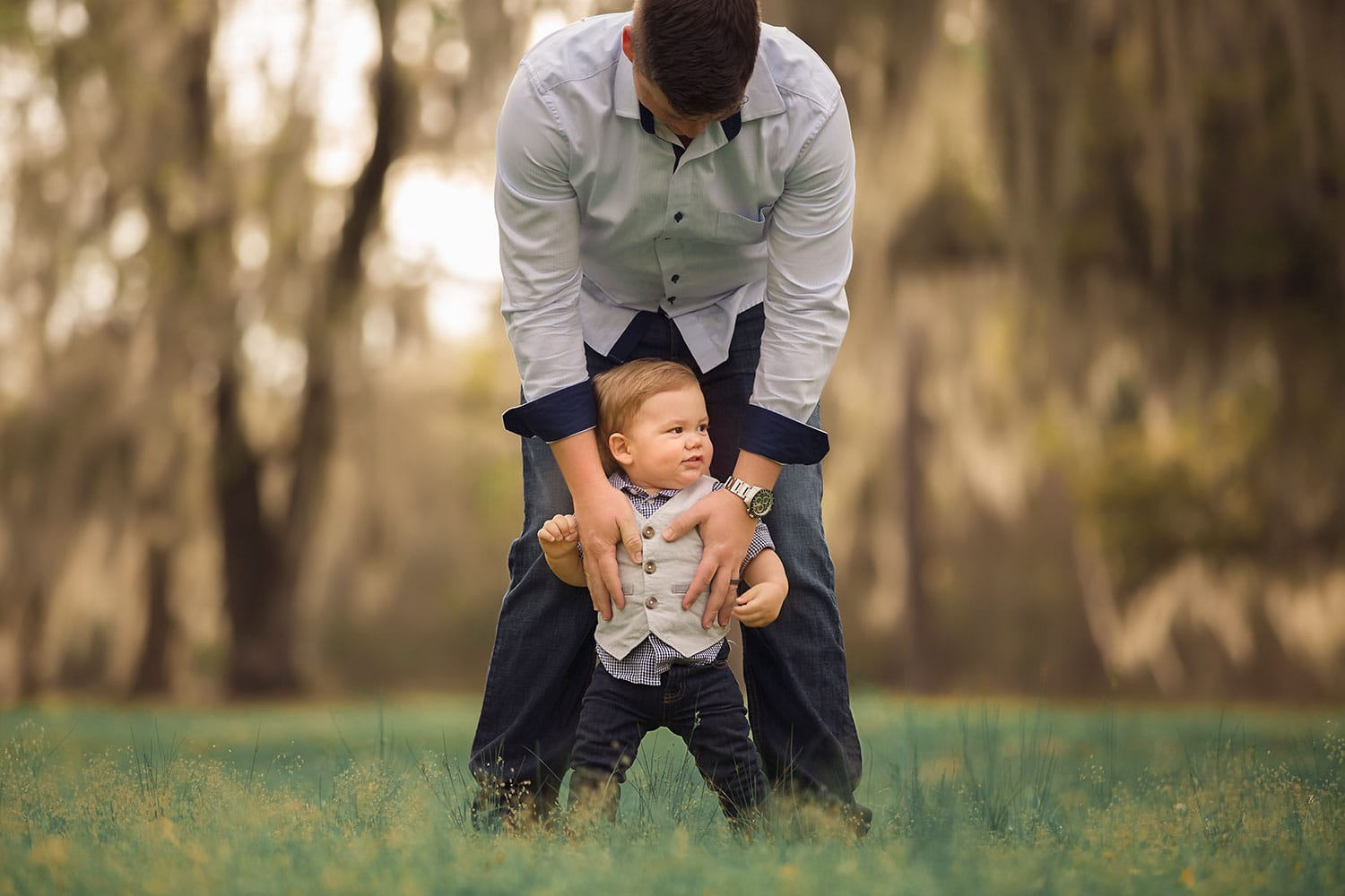 Dad and son by Annie Whitaker Photography