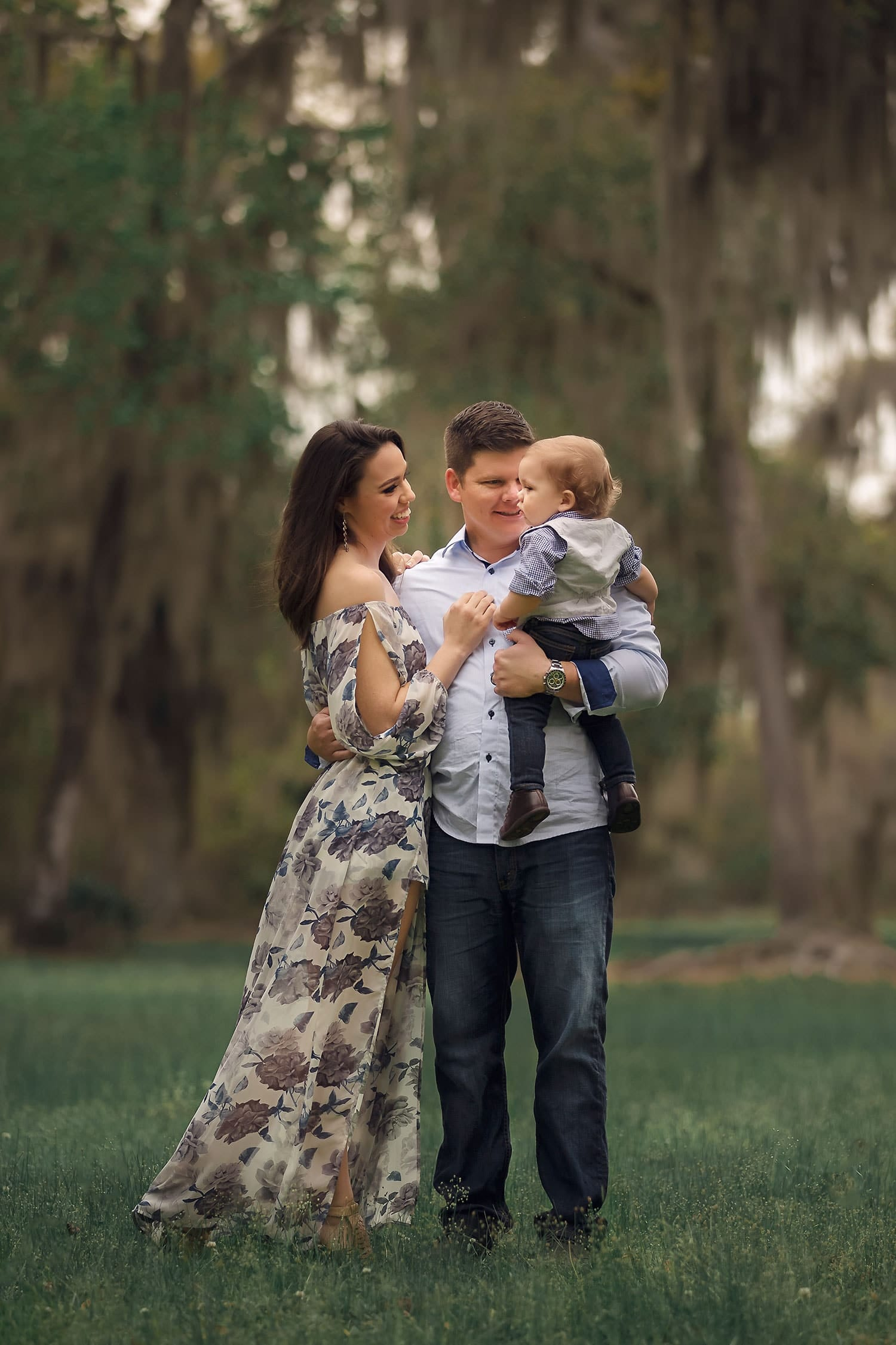 sweet family of four by Annie Whitaker Photography
