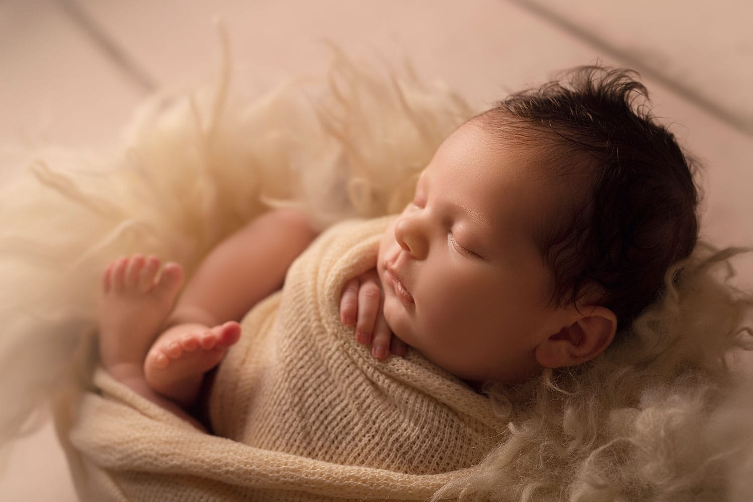 newborn in bowl by Annie Whitaker PHotography
