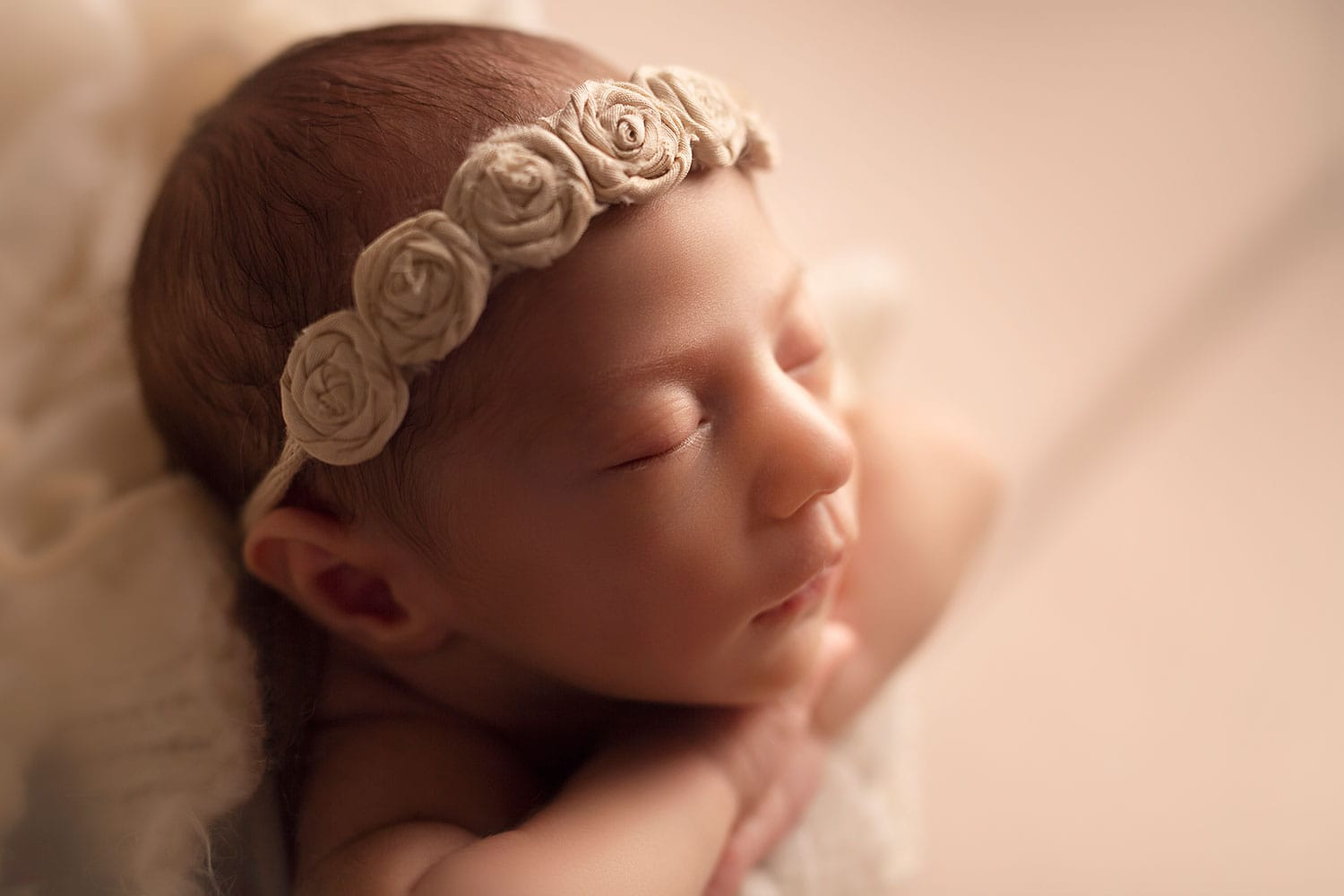 Newborn profile by Annie whitaker Photography
