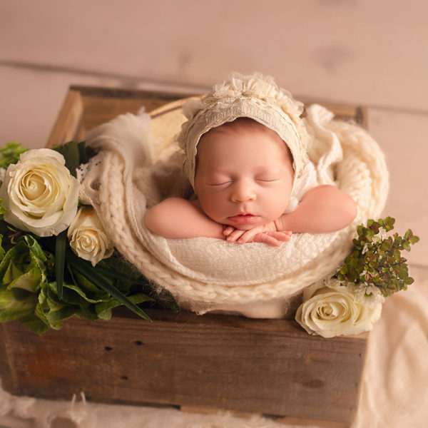 Mandeville Newborn Photographer {Grace Day 8}