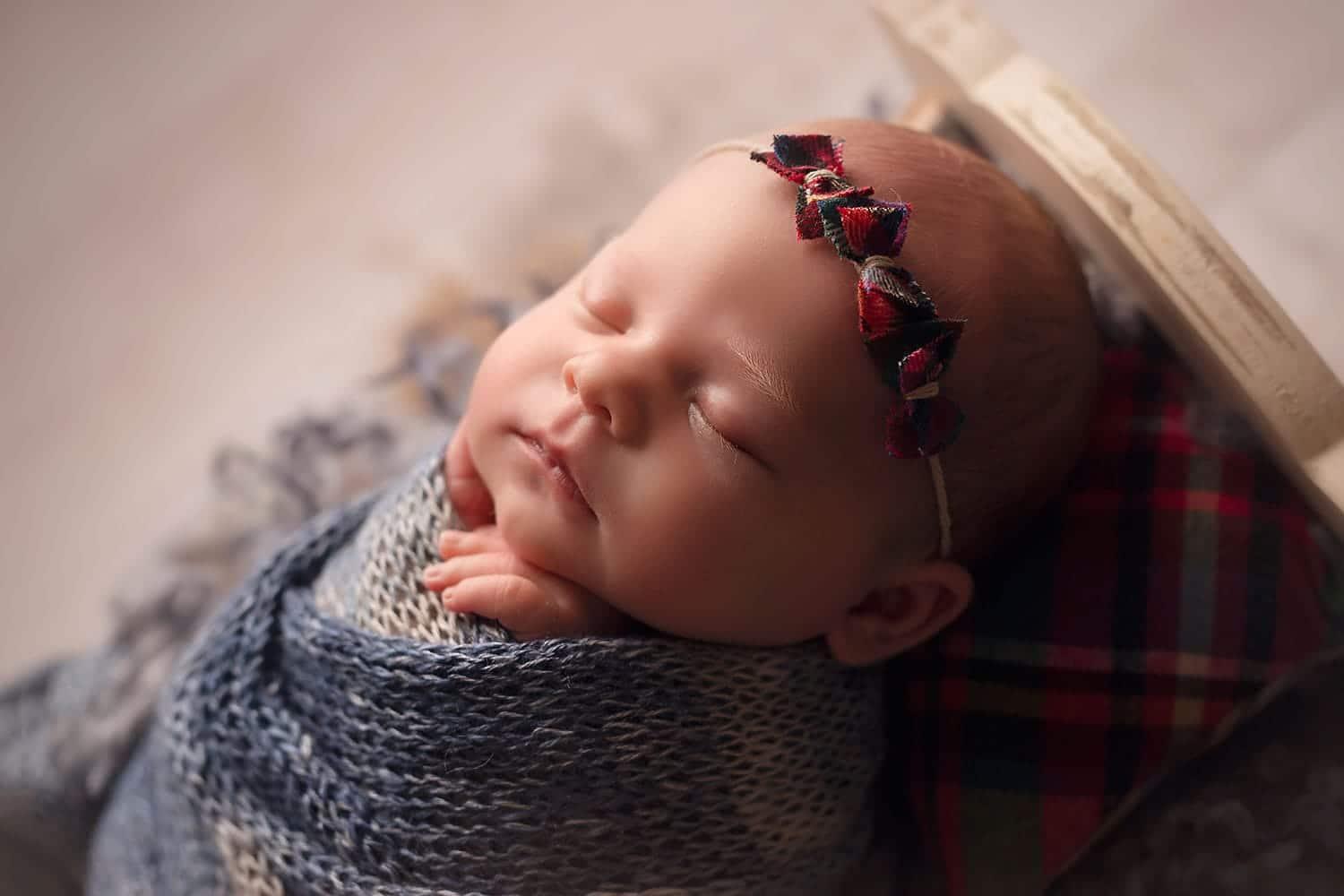 sweet baby profile by Annie Whitaker Photography