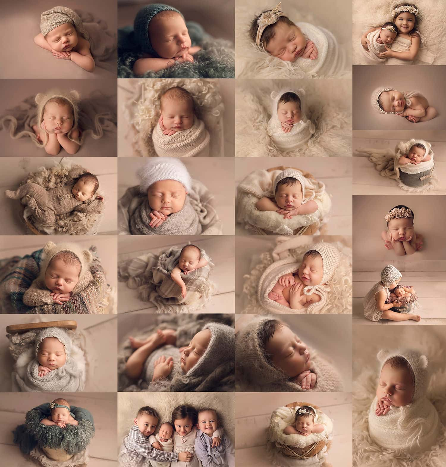 Fine art newborn photography in New Orleans Louisiana