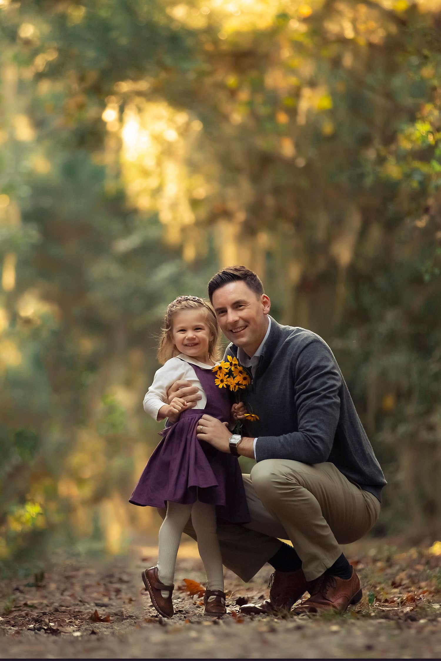 perfect photo of dad with daughter by Annie Whitaker Photography