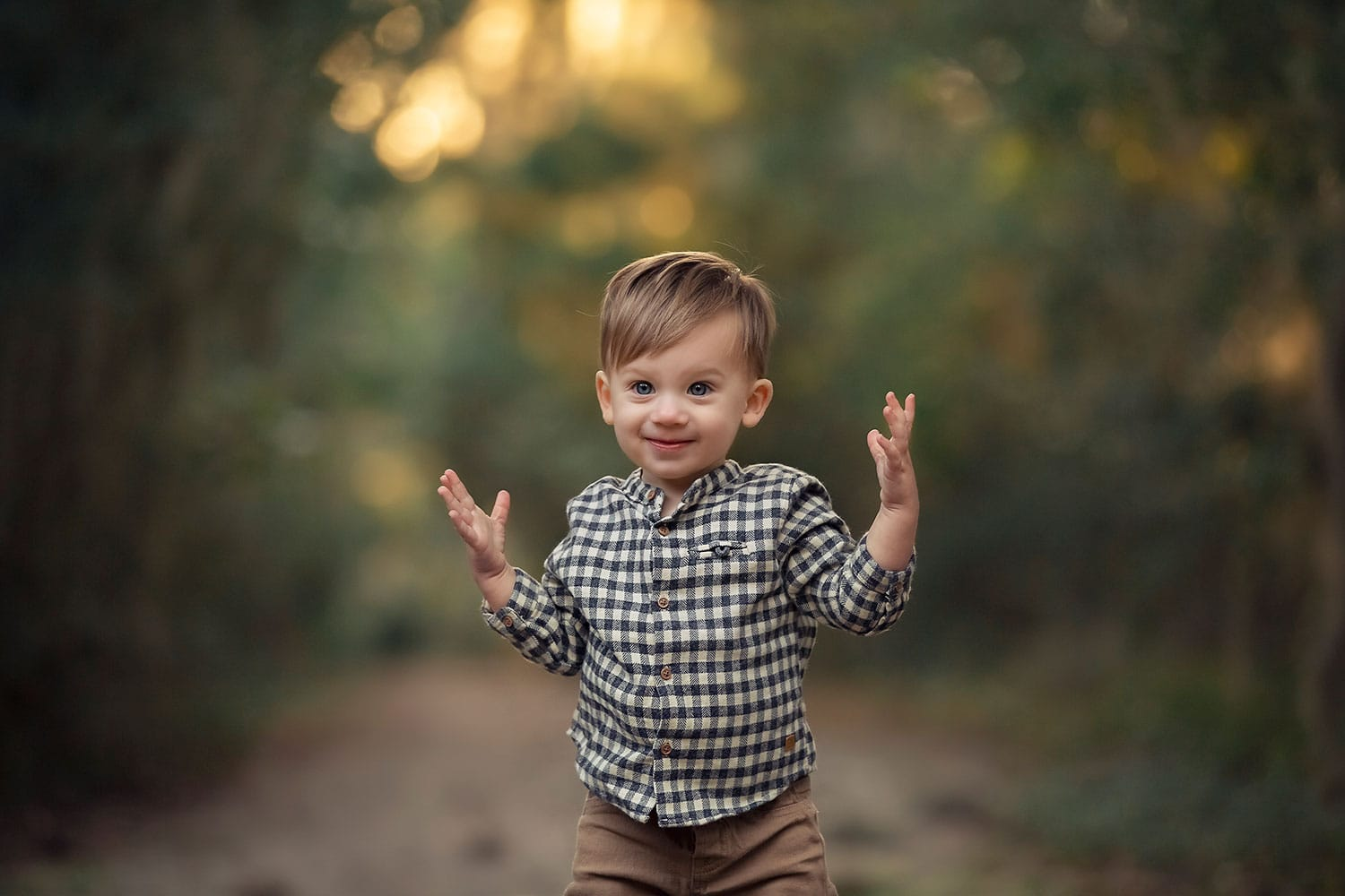 Sweetest little boy walking by Annie Whitaker Photography