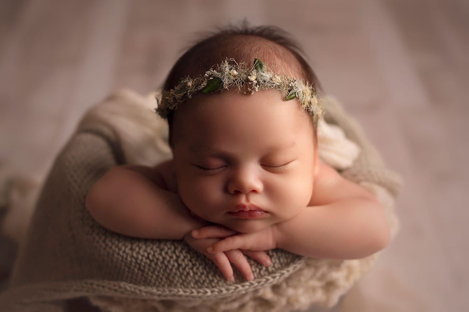New Orleans Newborn Photographer {Camilla 2 months old}