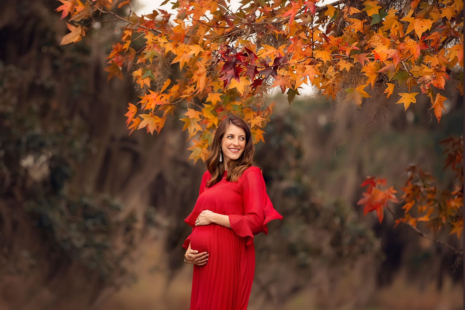 Fine art maternity session in New Orleans LA by Annie Whitaker Photography