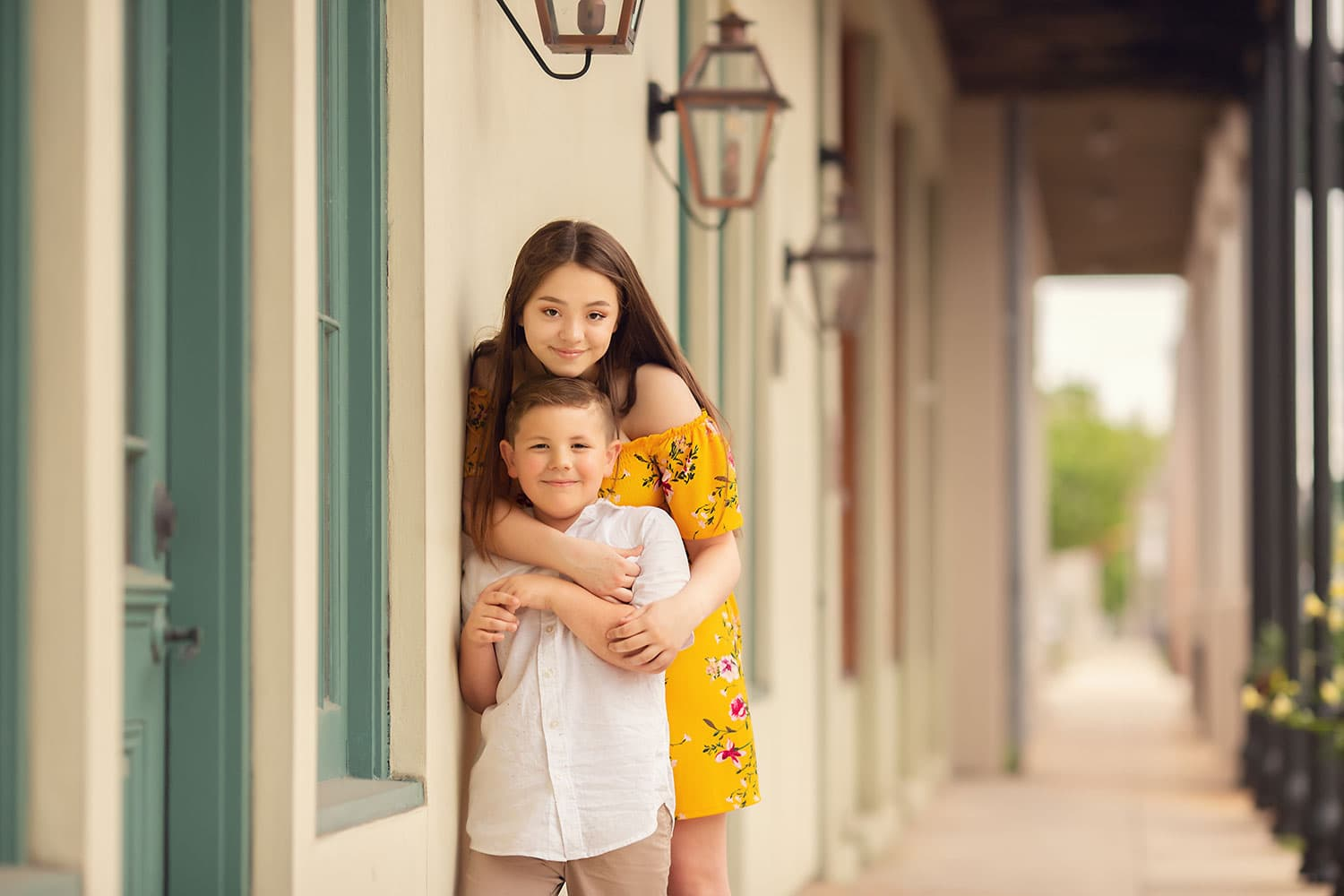 New Orleans Children's Photographer {Jaden and Andrew}