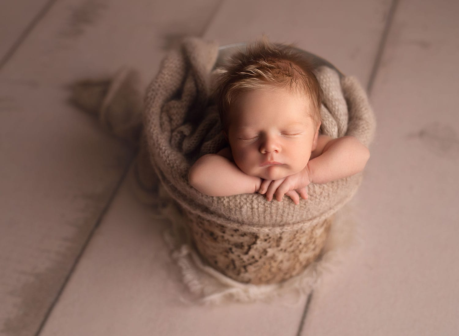 Mandeville fine art newborn photographer