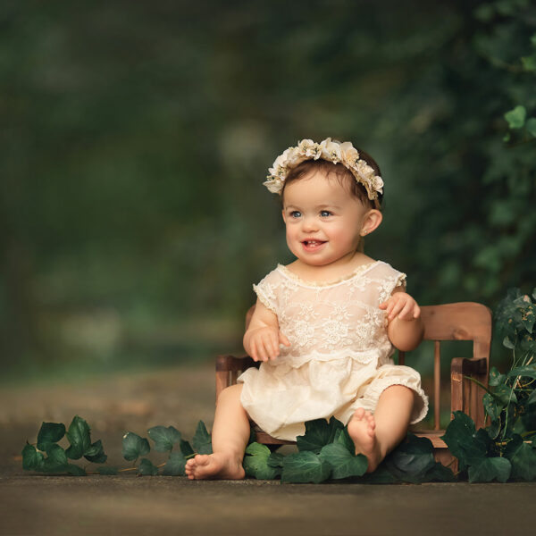 Madisonville Baby Photographer {Ellie 1 year}
