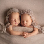Fine art twin newborn photography