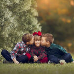 Fine Art Children's Photo of two brothers and a sister