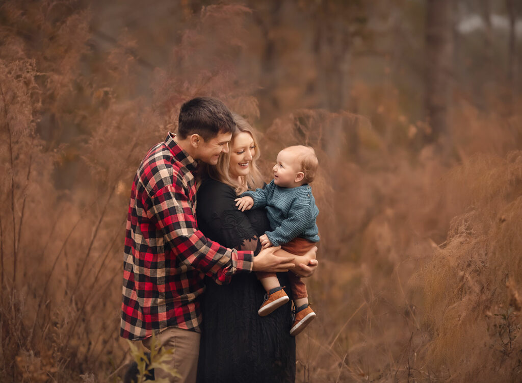 fine art family photo by Annie Whitaker Photography