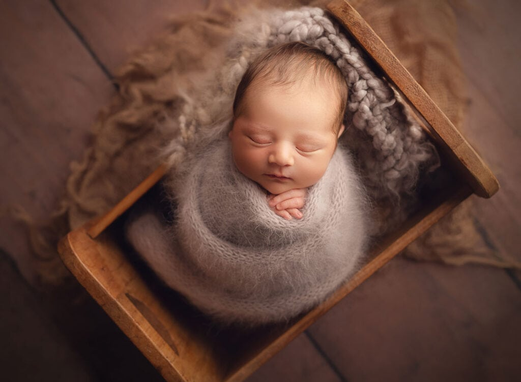 fine art newborn photography in New Orleans LA