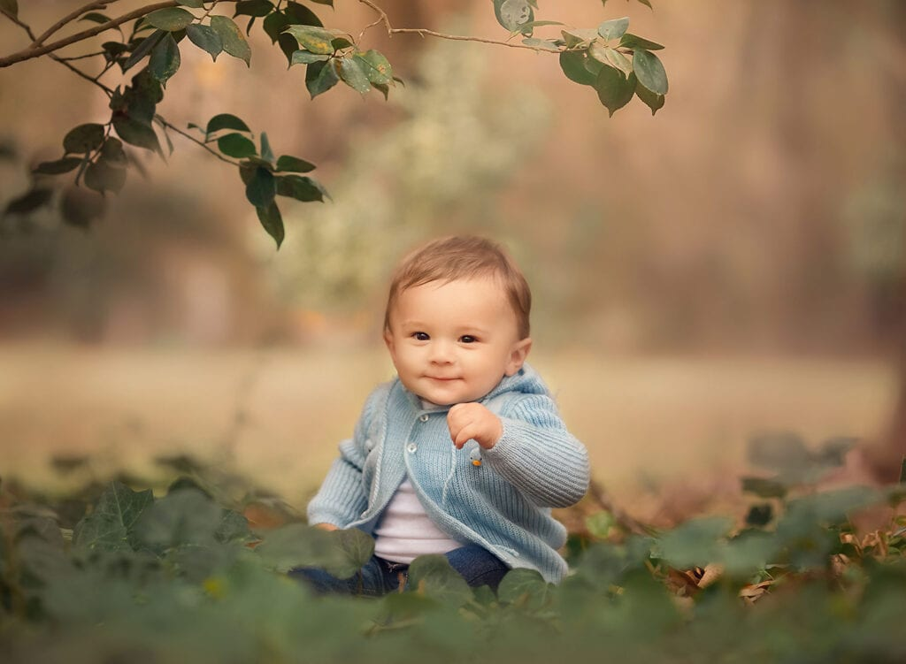 Covington LA baby photographer