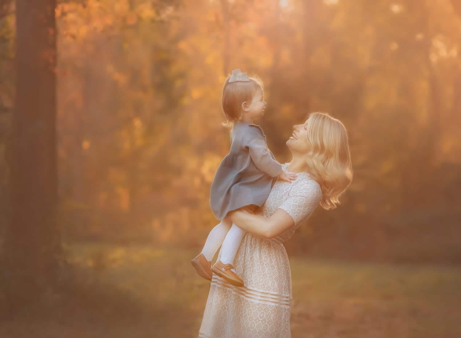 Fine art photo of mother with child